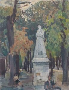 Ondine Magnard, Le jardin du Luxembourg
