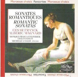 Sonate pour violon par Frasca-Colombier & Langot