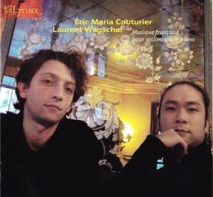 Sonate pour violoncelle par Couturier & Wagschal
