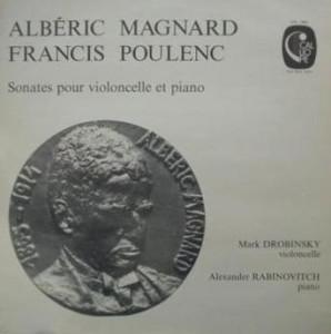 Sonate pour violoncelle par Drobinsky & Rabinovitch