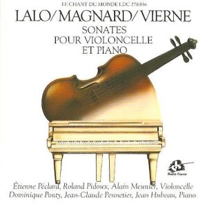 Sonate pour violoncelle par Pidoux & Pennetier