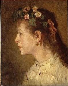 Gustave Ricard, portrait de femme