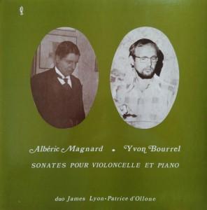 Sonate pour violoncelle par Lyon & d'Ollone