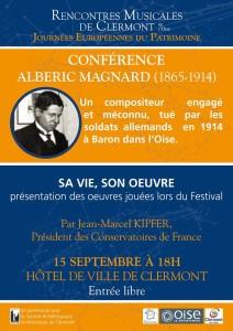 Clermont - Conférence de Jean-Marcel Kipfer