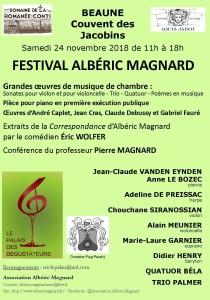 Festival Magnard - Flyer V11