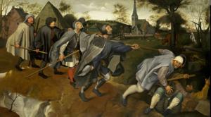 BRUEGEL - La parabole des aveugles (1568)