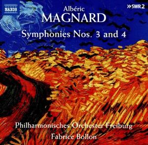 Symphonies par Bollon (N° 3 et N° 4)